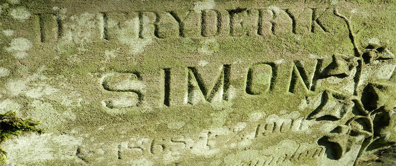 Cmentarz Łyczakowski grób Fryderyk Simon pole numer 9.