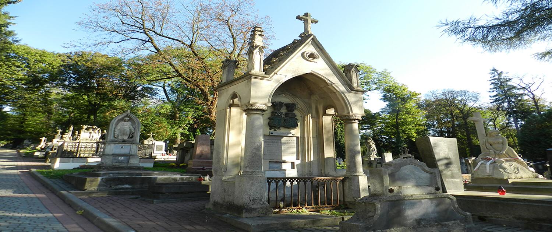 Cmentarz Łyczakowski grobowiec Jadwiga hrabina Russocka pole numer 5.
