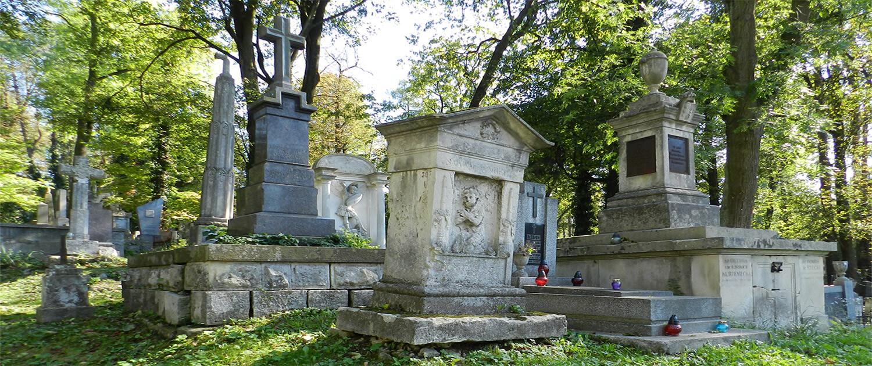 Cmentarz Łyczakowski grobowiec Sabine Noel pole numer 5.