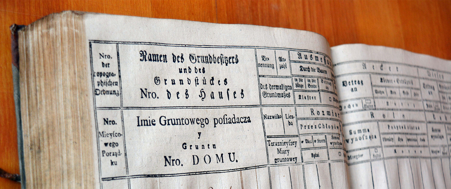 Archive research in historical archives in Lviv (Ukraine)